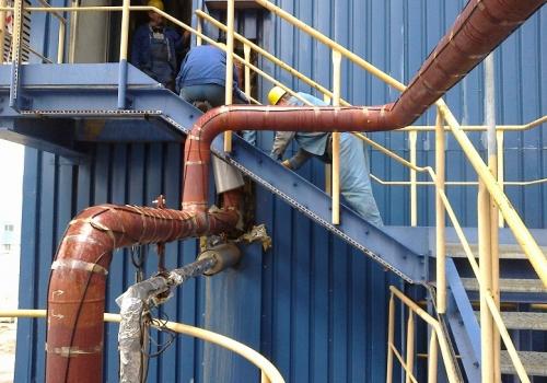 Instalacja wody procesowej, od pomp do demistrów - bloków Elektrownii