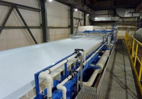 Regeneracja i naprawa filtra taśmowego w Elektrownii